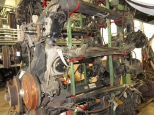 Ponte Posteriore Fiat  Uno del 1985 1000cc.   da autodemolizione