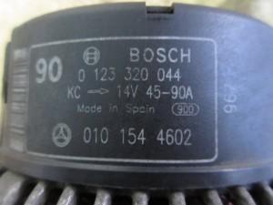 Alternatore BOSCH 0123320044 Mercedes-Benz  C 180 del 1999 1799cc.   da autodemolizione