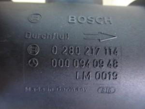 Debimetro Mercedes-Benz  C 180 del 1999 1799cc.   da autodemolizione