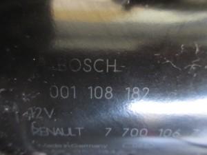 Motorino Avviamento BOSCH 0001108182 7700106763A Renault  Express del 1998 1870cc.   da autodemolizione