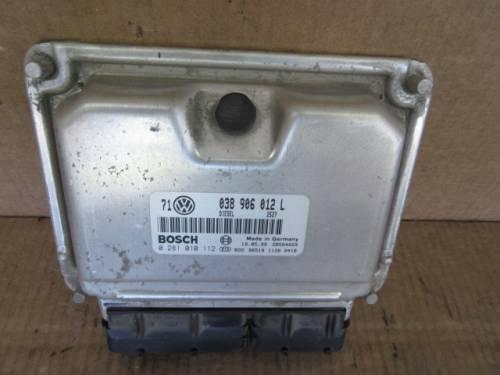 Centralina Motore Bosch 0281010112 Volkswagen  Golf 4 del 1999 1896cc. 110cv  da autodemolizione