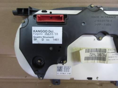 Quadro Strumenti Renault  Kangoo del 2003 1461cc. DCI  da autodemolizione