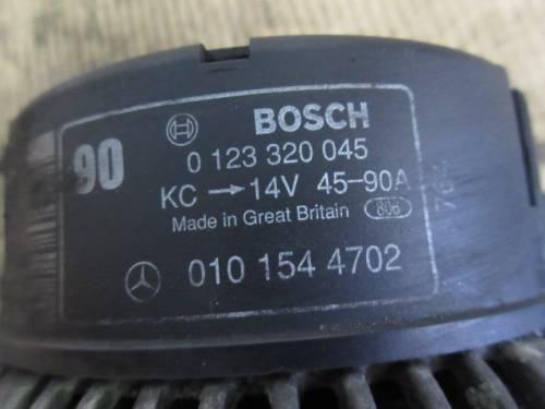 Alternatore bosch 0123320045 Mercedes-Benz  C 220 del 1998 2155cc.   da autodemolizione