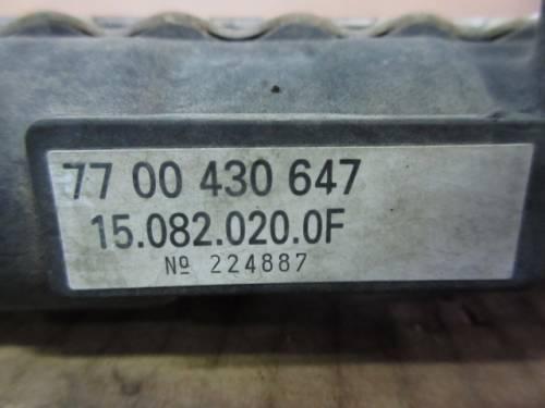Radiatore Acqua 7700430647 150820200F 224887  Renault  Clio del 2000 1149cc.   da autodemolizione