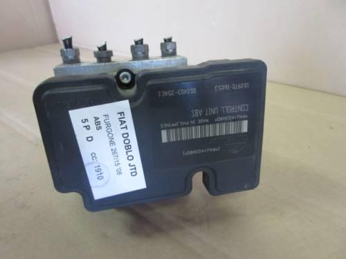 Centralina Abs Ate R4U1K03A60 10.0970-1605.3   0.0207-0140.4  Fiat  Doblo del 2008 1910cc. JTD  da autodemolizione