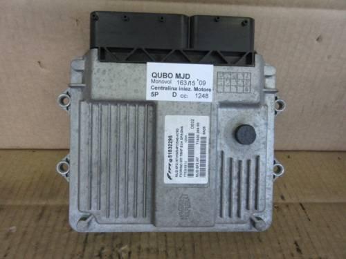 Centralina Motore Magneti Marelli FPT 51832295 75HP 12V Fiat  Qubo del 2009 1248cc. MJD  da autodemolizione