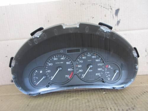 Quadro Strumenti JAEGER 9648836480 ZJ0T0R62 Peugeot  206 del 2002 1124cc.   da autodemolizione