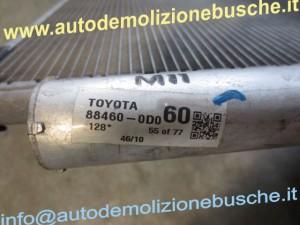 Condensatore 88460-0D060 Toyota  Yaris del 2010 1364cc.   da autodemolizione