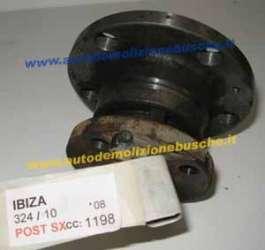 SEAT  Ibiza DEL 2008 1198cc.