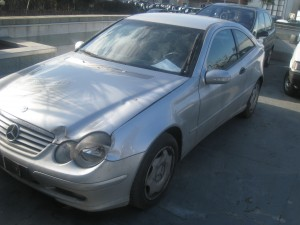 MERCEDES-BENZ  CL 200 DEL 2001 2148cc.