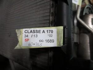 MERCEDES-BENZ  A 170 DEL 2002 1689cc. CDI
