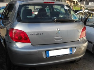 PEUGEOT  307 DEL 2002 1587cc. 1.6