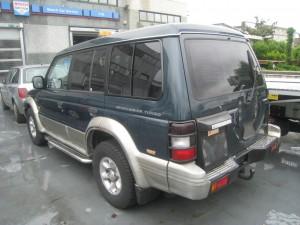 MITSUBISHI  Pajero DEL 1996 2477cc.