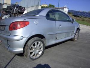 PEUGEOT  206 DEL 2000 1587cc. 1600cc 16v