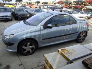 PEUGEOT  206 DEL 2001 1587cc.