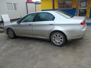 ALFA ROMEO  166 DEL 2000 2400cc.