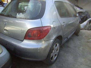 PEUGEOT  307 DEL 2005 1600cc. 1.6cc HDI 66KW