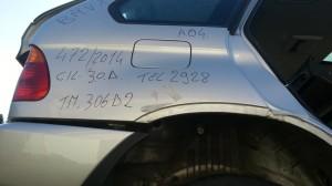 BMW  X5 DEL 2004 2993cc.