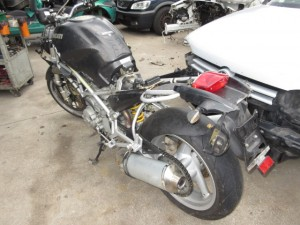 DUCATI  Monster 695 DEL 2001 583cc.