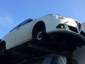 ALFA ROMEO  Giulietta DEL 2011 1600cc. 1.6 mjt