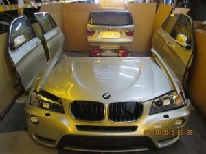 BMW  X3 DEL 2014 0cc. F25