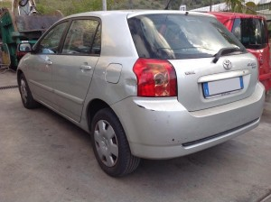 TOYOTA  Corolla DEL 2005 1995cc.