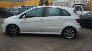 MERCEDES-BENZ  B 200 DEL 2009 2000cc. CDI