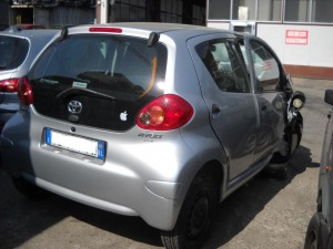 TOYOTA  Aygo DEL 2008 998cc. 1.0