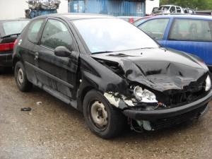 PEUGEOT  206 DEL 2001 1587cc. 1.6 16V