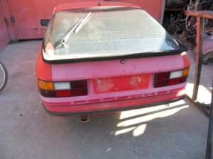 PORSCHE  924 DEL 1980 0cc.