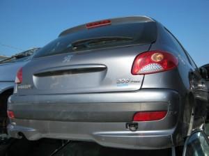 PEUGEOT  206 DEL 2009 1124cc.
