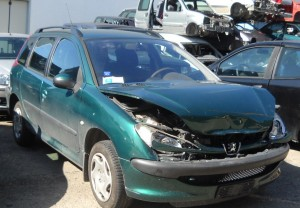 PEUGEOT  206 DEL 2004 1360cc. 1.4 8V