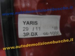TOYOTA  Yaris DEL 2003 1000cc.