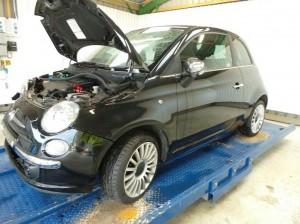 FIAT  500 DEL 2008 1248cc.