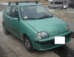 FIAT  Seicento DEL 2001 1108cc. 1.1 8V