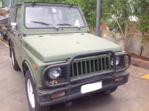 SUZUKI  SJ 410 DEL 1985 970cc.