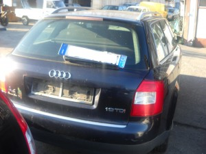 AUDI  A4 DEL 2003 1896cc. 1.9 TDI