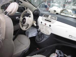 FIAT  500 DEL 2007 1248cc.