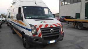 VOLKSWAGEN  Crafter DEL 2011 2461cc.