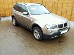 BMW  X3 DEL 2008 1995cc.