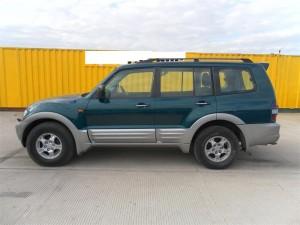 MITSUBISHI  Pajero DEL 2000 3200cc. DI-D GLSLWB