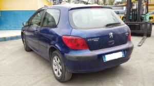 PEUGEOT  307 DEL 2002 1400cc. HDI