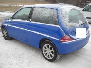 LANCIA  Y DEL 2002 1242cc. 1.2 8V
