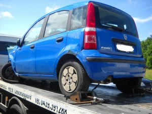 FIAT  Panda DEL 2004 1108cc. 1.1 8V