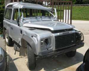 LAND ROVER  Defender DEL 2006 2500cc.