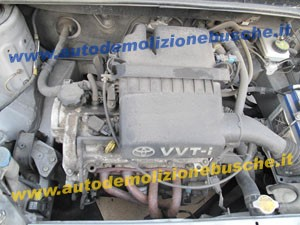 TOYOTA  Yaris DEL 2001 1000cc.